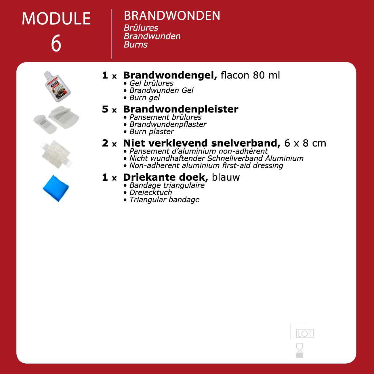 inhoud module industrie