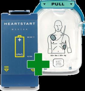 Philips Heartstart Combipakket-transparant