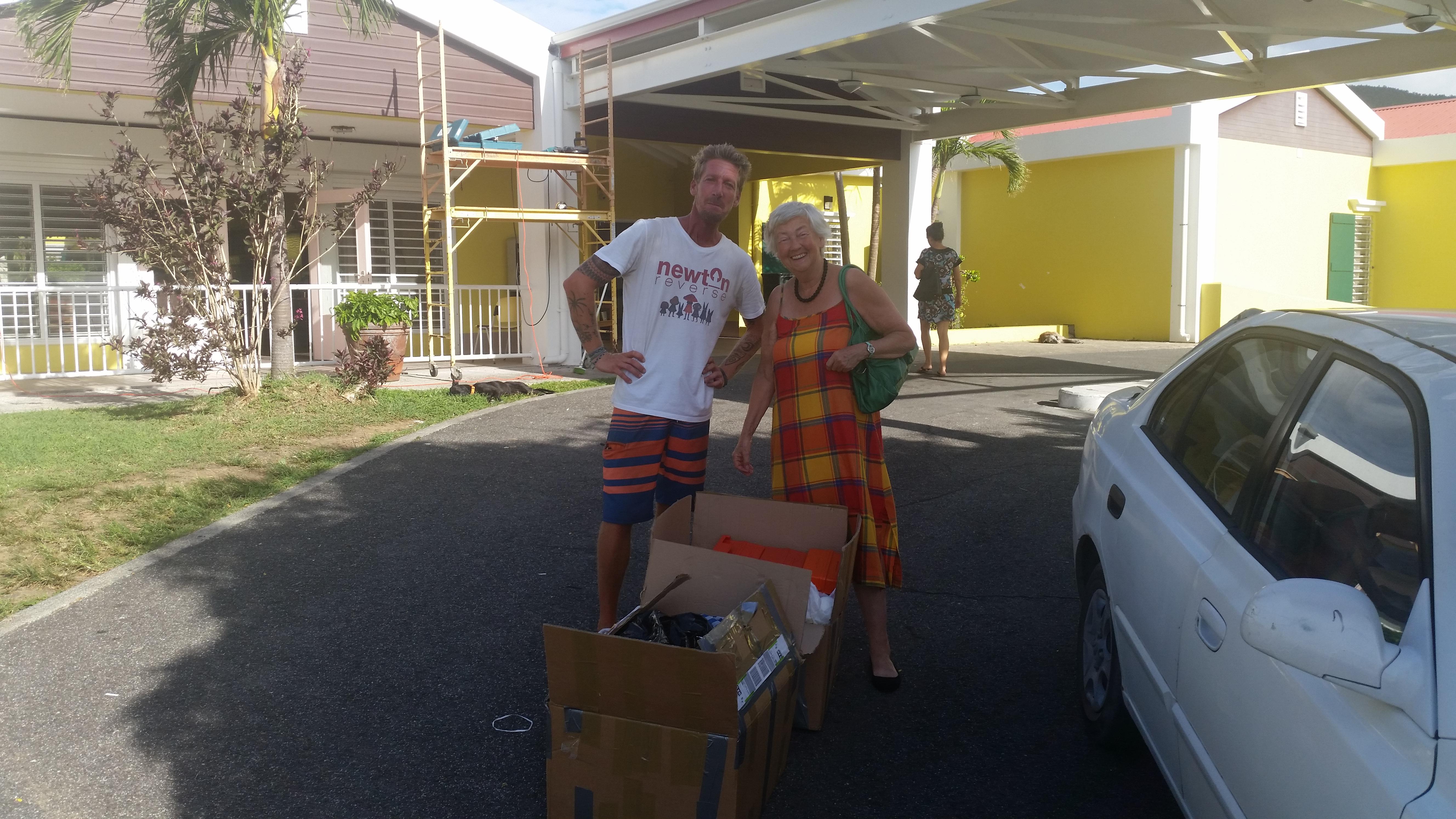 Verbandkoffers voor Sint Maarten