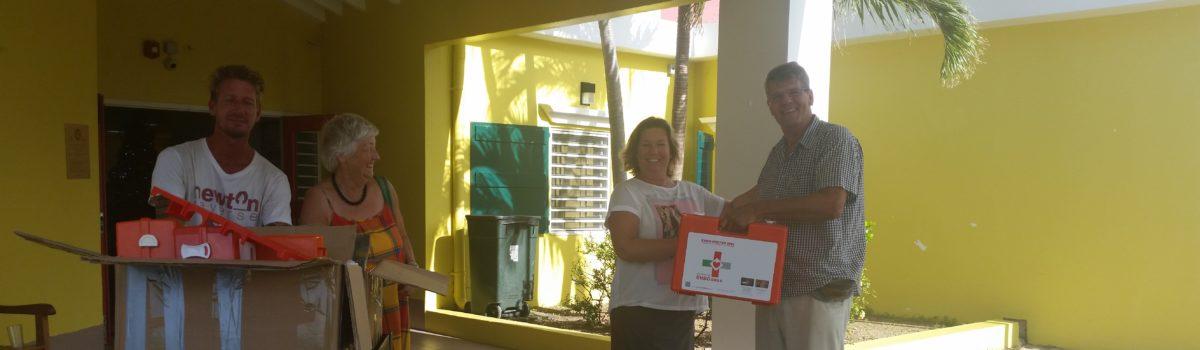 Verbanddozen voor Sint Maarten