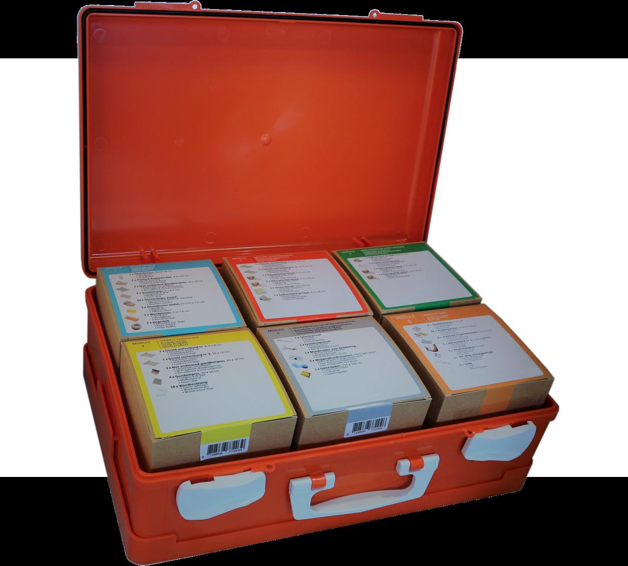 BHV-doos modulair Kinderopvang