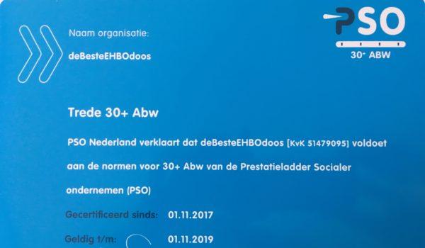 Aanbesteding voor verbandmiddelen verleden tijd door PSO30+ keurmerk!