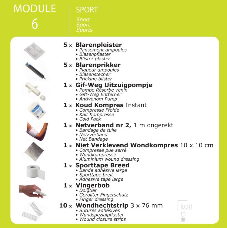 inhoud module sport