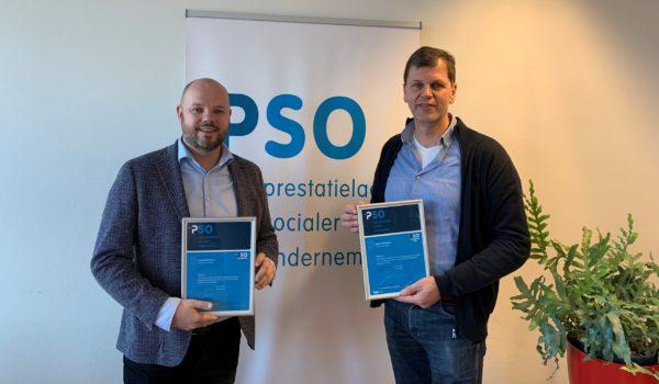 Certificaat Trede 3/PSO30+ vernieuwd