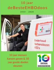 10 jaar deBesteEHBOdoos magazine