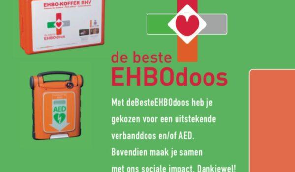 Flyer 10 jaar deBesteEHBOdoos