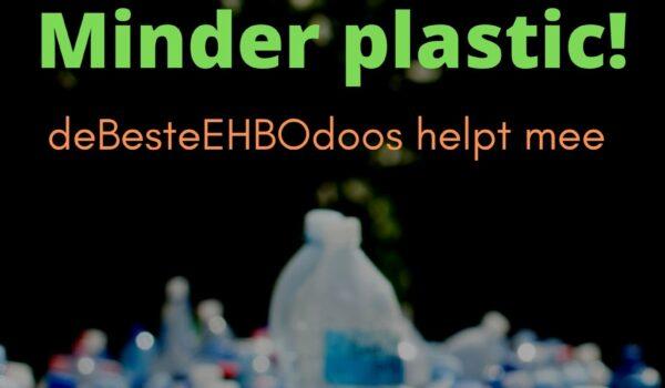 Minder plastic: deBesteEHBOdoos helpt mee!